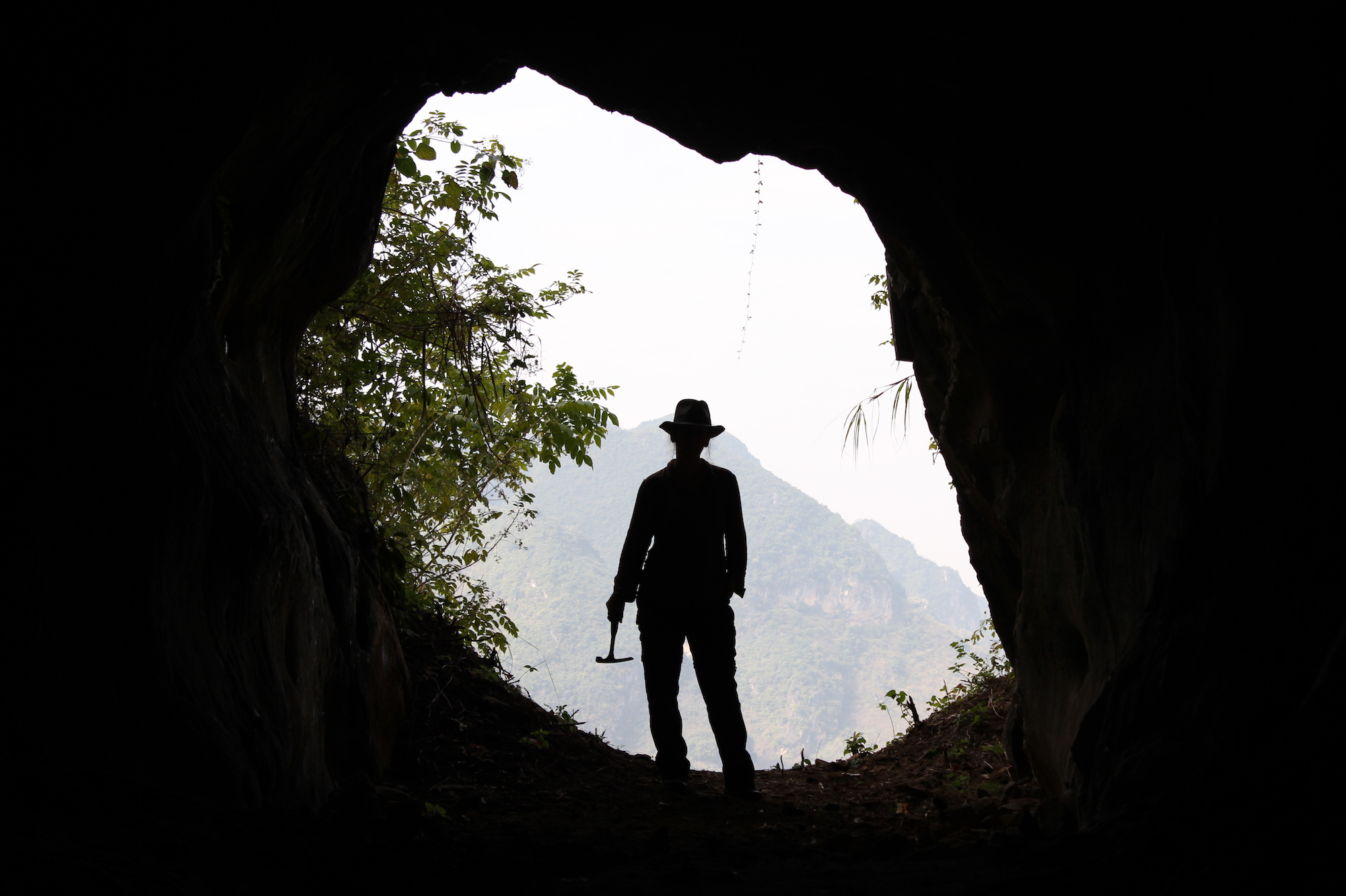 Searching for lost caves