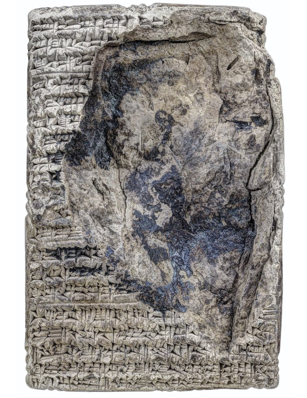 Fragmentary obverse of a house sale contract. Courtesy of the Yale Babylonian Collection.