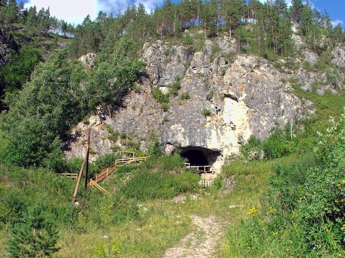 Denisova Cave, Siberia, Russia